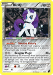 Equestrian Heroes - Rarity (BW style test) by dmon2