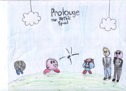 Paper Kirby Prolouge: The Mythic Spool by AttackOfTheJack
