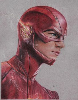 The Flash by Lacrymosakma