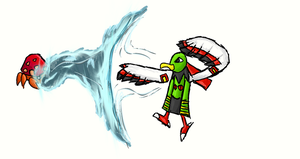 Xatu used hidden power by Andreas0047