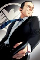 MCU Agent Coulson by Hallpen