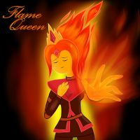 Flame Queen by A-psychologist