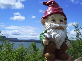 Garden Gnome Lake Superior by Joey1992911