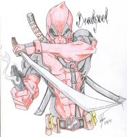Deadpool by Infernothebloodhound