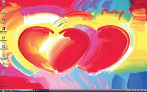 Two Hearts As One Desktop by Northstar2790