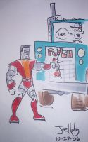Colossus Hates Truckers by Mr-DNA