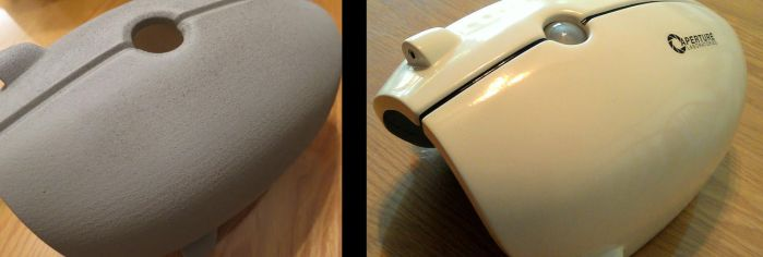 Portal Gun Before and After by techgeekgirl
