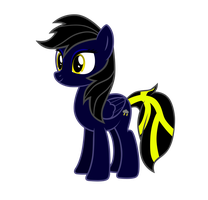 Shadow THunder vector by ShadowThunderMLP