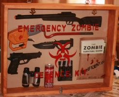 Emergency Zombie Defence Kit by meaikoh