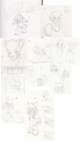 Sketchdump of Mostly Adorable by Omnicenos