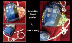 Doctor Who: TARDIS Necklace by ljvaughn