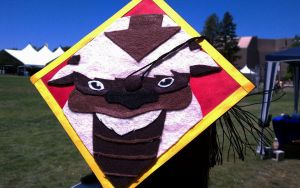 Appa Graduation Cap by LnknPrk7Snoopy