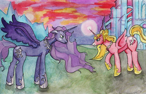 Two Sisters by DesdemonaKakalose