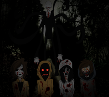 We the proxies of Slenderman by Amyhip