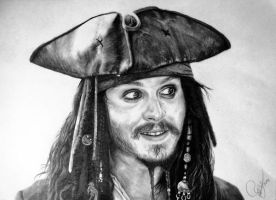 Captain Jack Sparrow by Schoerie