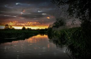 Just before the night by RavensLane