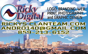 Rickys Bisiness Card back by andro140