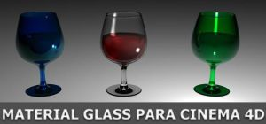 Material Glass C4D by Arcandres