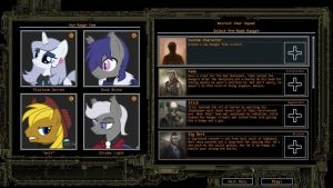 Wasteland 2 Ranger Squad [With Horses] by DuskTheBatPack