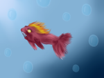 Fish creature by Envy-is-my-god