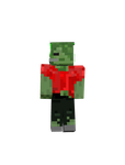 My new minecraft skin: Still a girl Zombie by ForeverMittens