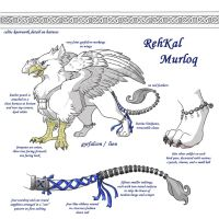 RehKal Ref Sheet Commission by aureath