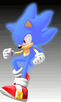 [ANIMATED] Hyper Sonic the Hedgehog by Jogita6