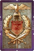 Rome playing card by Turbopastry