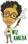 cartoon wiz khalifa by rickee16