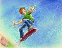 George: Skyboarding by The-Starhorse