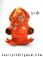 Ika Squid Plush by inki-drop