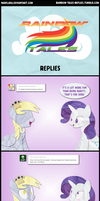 Rainbow Tales Replies: Awkward Moment by Narflarg