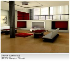 Interior red by hampux