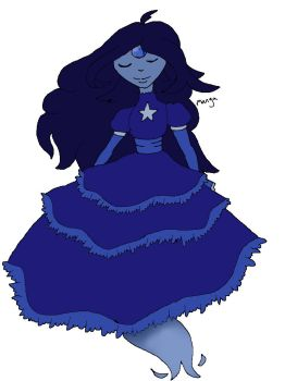 Blue spinel gemsona CLOSED by mangadoptables