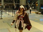 PAX East 2011 - Female Assassin's Creed by VideoGameStupid