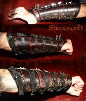 Shardrash's arm by SlaveToTheDark