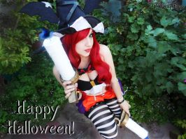 Miss Fortune Halloween Cosplay by MelodyxNya