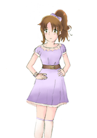 Nyotalia Italy Purple dress by Mirlin