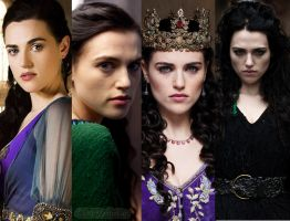 Morgana Series 1 - 4 by MagicalPictureMaker