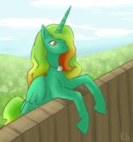 Pony request: Morning Star by Kabuto-bug