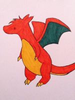 Cute Charizard by xXxEmoSweetheartxXx