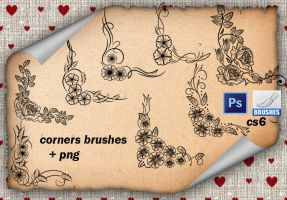 Corners Brushes  by roula33