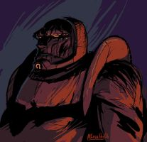 Darkseid again by MK01