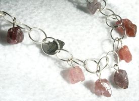 tourmaline necklace by faerykisses