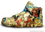 Street Fighter IV Sneakers by Madara31