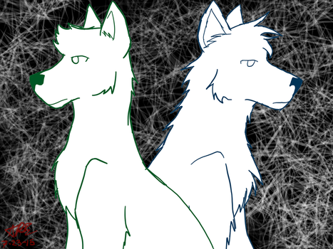 Howling Ghosts by zybynarx