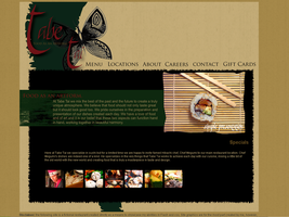 Fictional Restaurant Site 01 by tropicallili