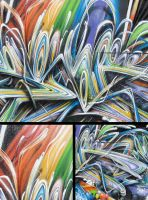 rainbow details by psktear