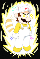 White Raccoon Mario (JBX9001) by JBX9001