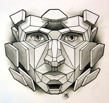 Polygon Me by Sirius-Tattoo